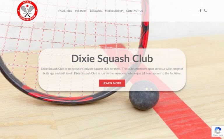 Dixie Squash Club Homepage