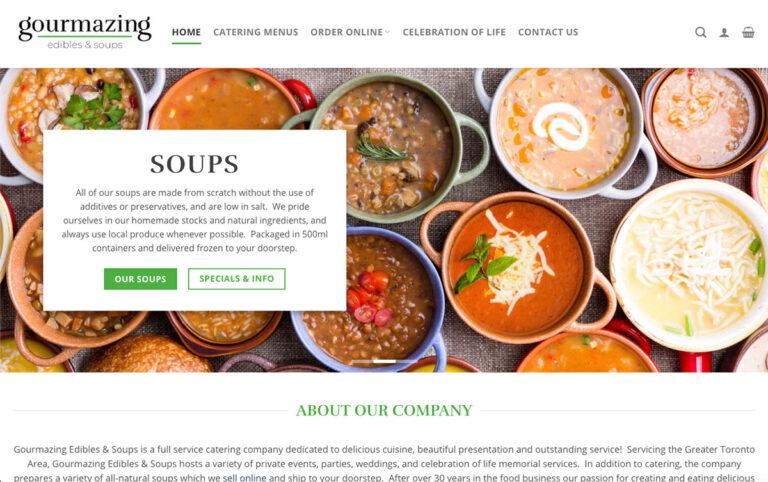 Gourmazing Edibles Homepage
